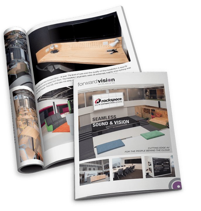 rackspace case study magazine mockup