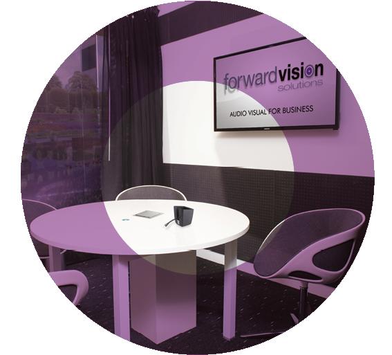 Meeting Room AV System barco clickshare