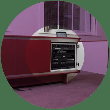 AV cabinet bespoke furniture