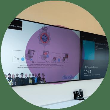 Boardroom audio visual Control