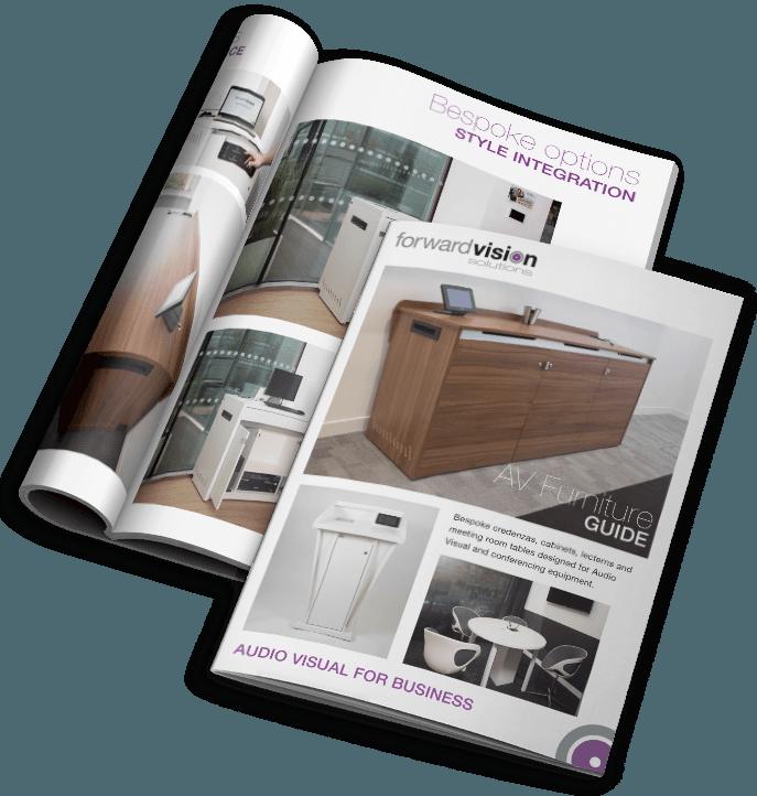 Av furniture case study mockup