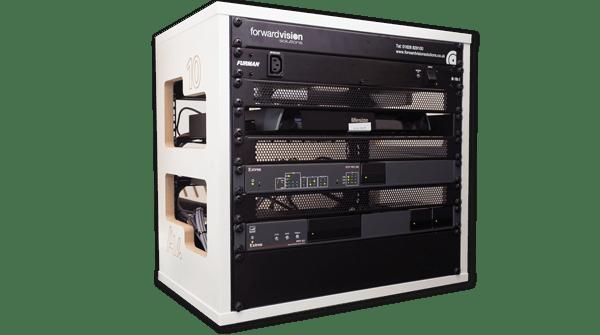 AV services bespoke rack