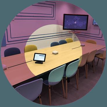 google meet room