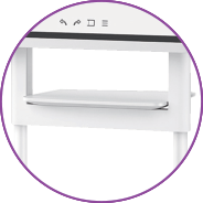 Samsung Flip shelf detail