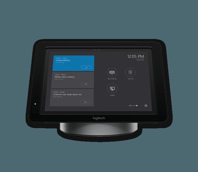 Skype Room Systems logitech tablet