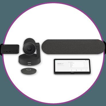 Hangouts Meet Hardware Logitech Medium Room solution