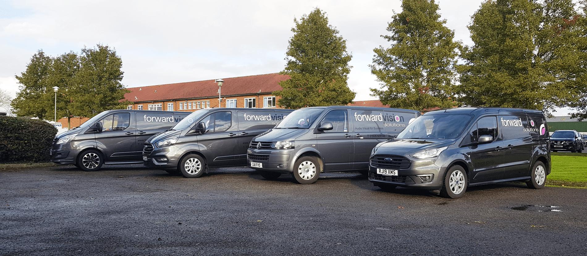 Forward visions Vans